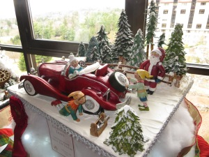 A winning entry of the 2013 National Gingerbread House Competition at The Omni Grove Park Inn