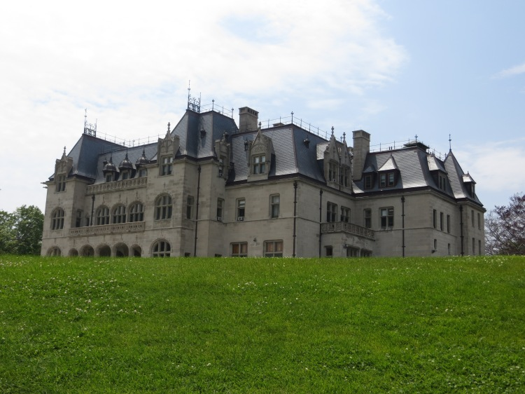 Ochre Court, the second largest mansion in Newport