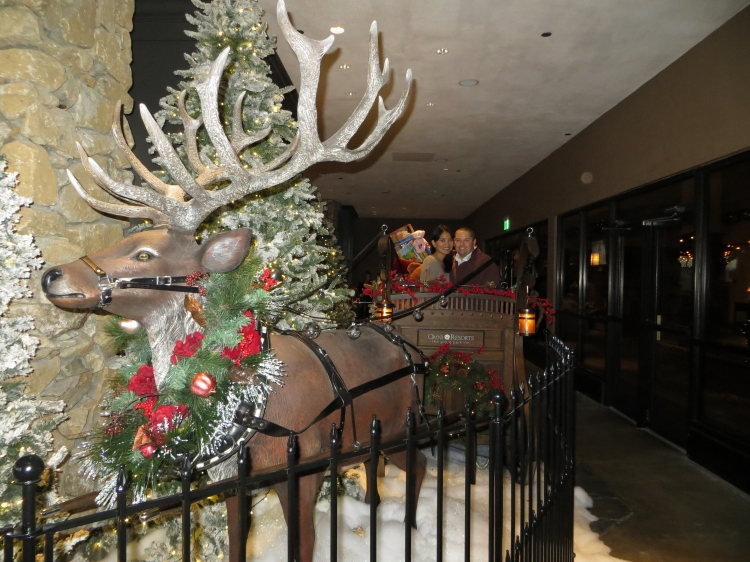 The sleigh was a favorite among Omni Grove Park Inn's guests