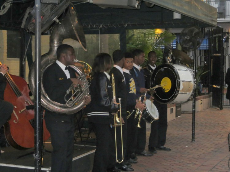 Young performers entertaining visitors at the Musical Legends Park