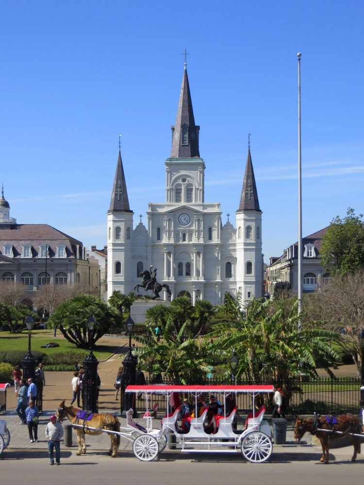The Saint Louis Cathedral in New Orleans