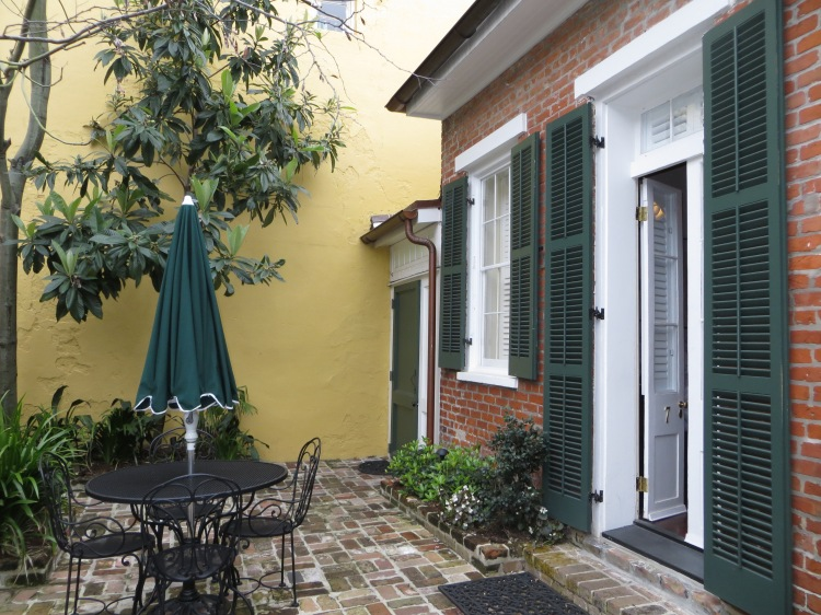 Our cottage in the French Quarter