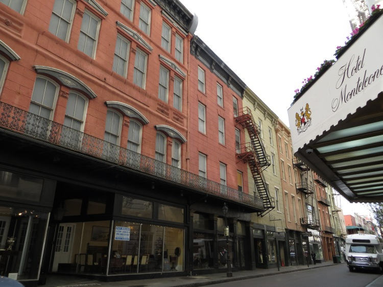 The famous Hotel Monteleone can be found on Royal Street