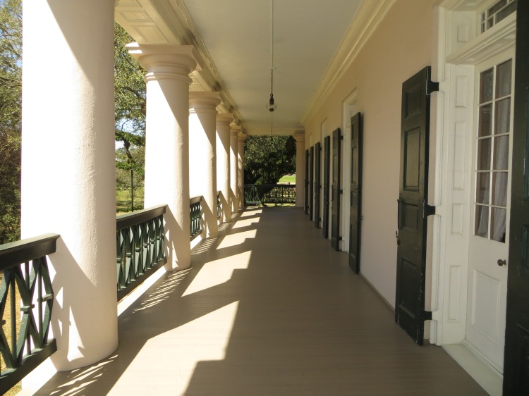 A corridor in the Big House