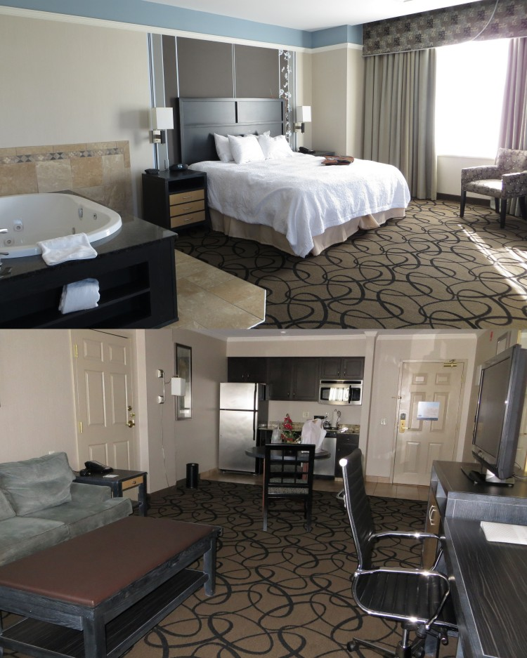 Our one-bedroom suites at the Hampton Inn & Suites Buffalo Downtown