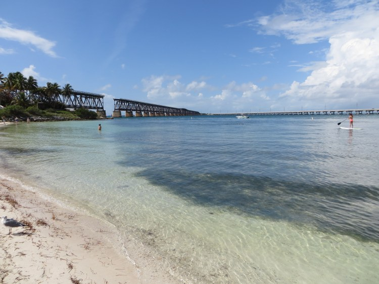 Standing on Bahia Honda State Park's Calusa Beach,  I marveled at Henry Flagler's Overseas Railroad,
