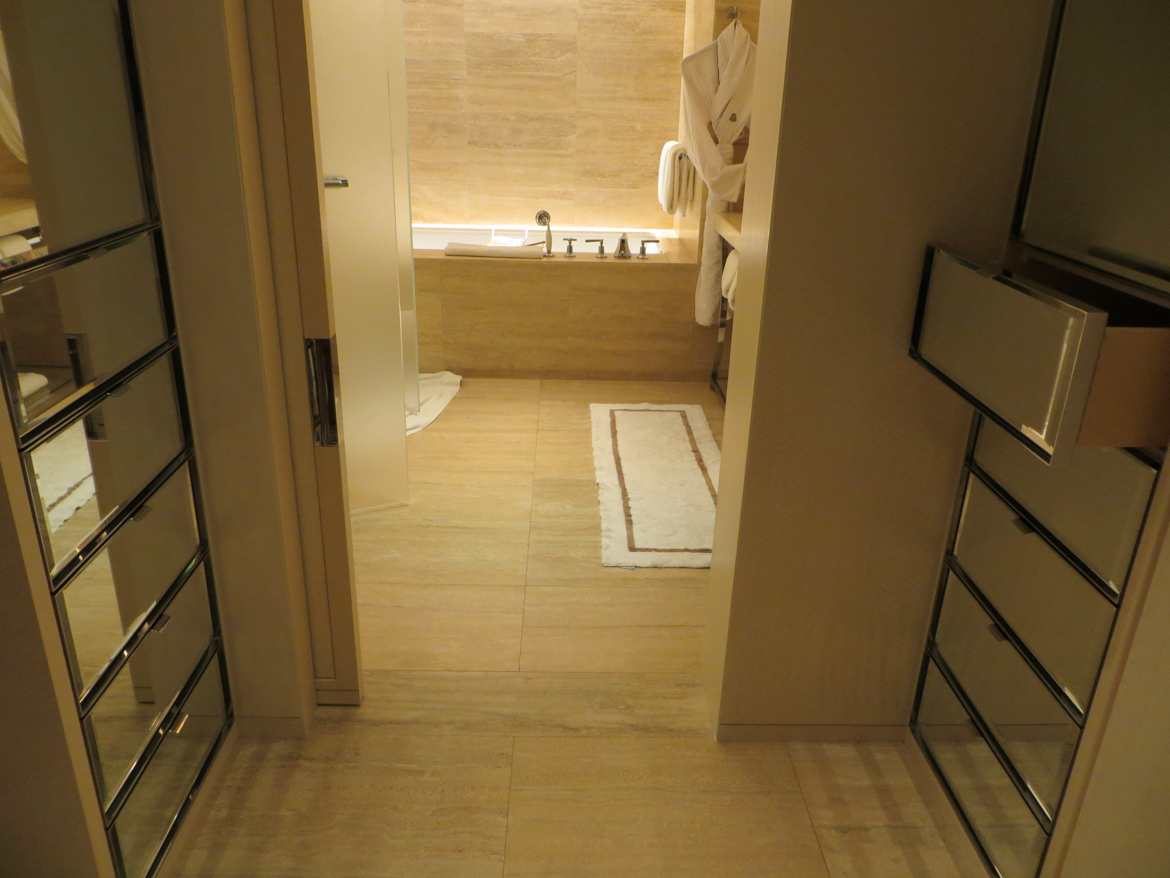 The st regis bal harbour resort south florida s for Ample closet space
