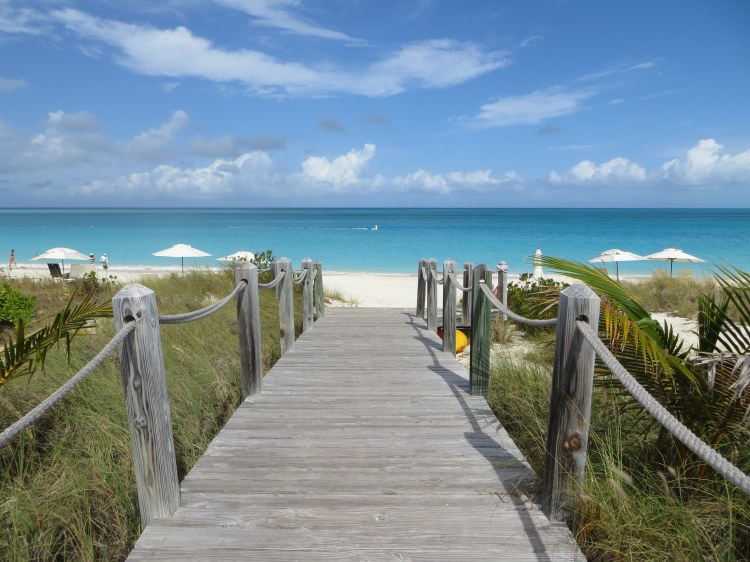 Grace Bay is one of the world's top beaches