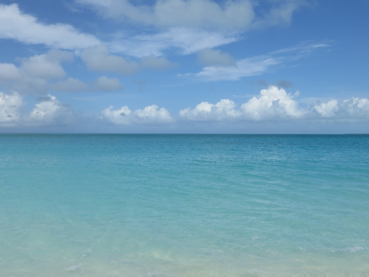 The amazing Grace Bay Beach