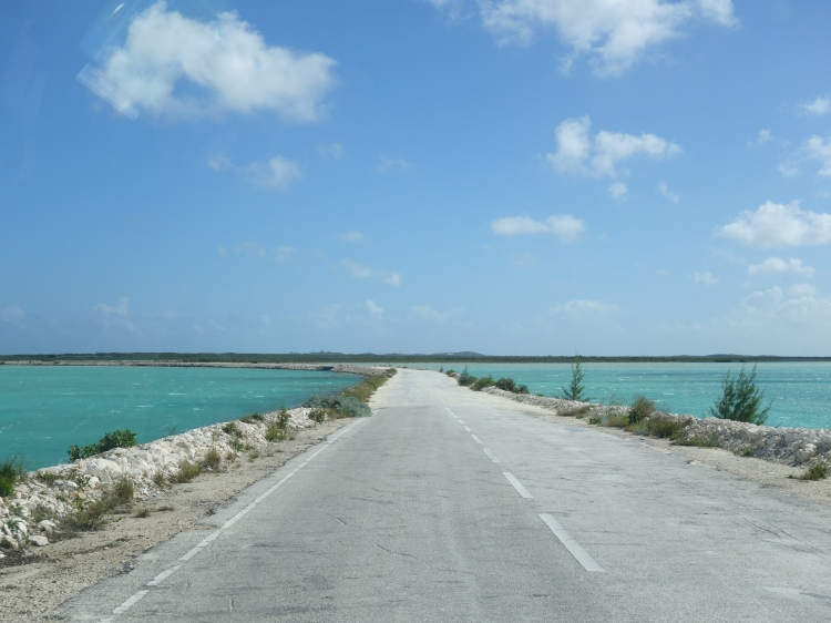 North-Middle Caicos causeway