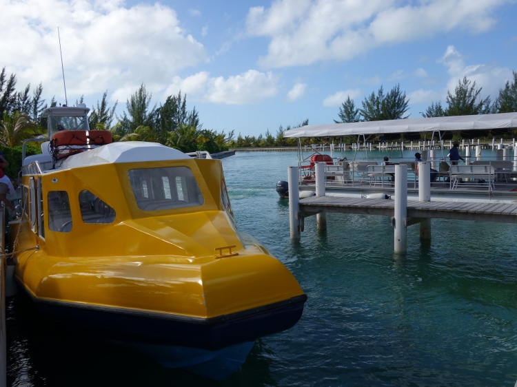 Sandy Point Marina on North Caicos
