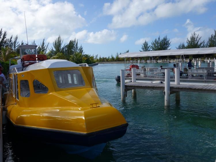 Sandy Point Marina on North Caicos
