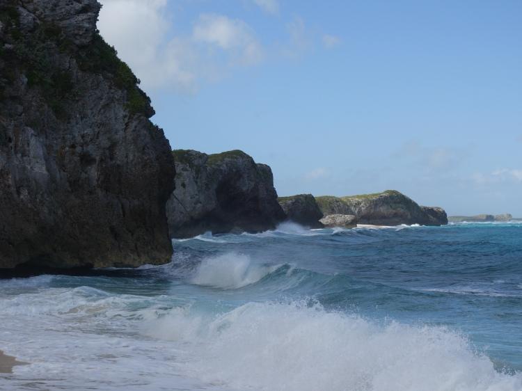 Cliffs on Mudjin Harbour
