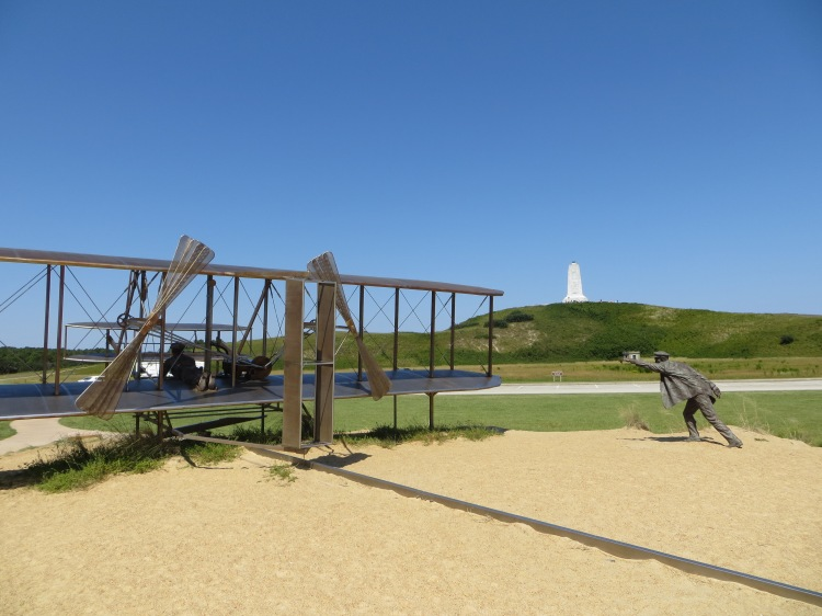 The Wright Brothers National Memorial