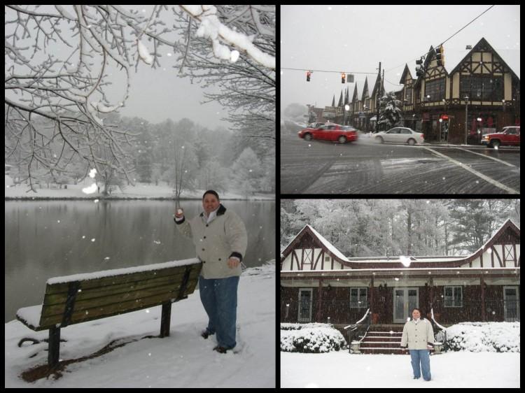 Avondale Estates winterscape