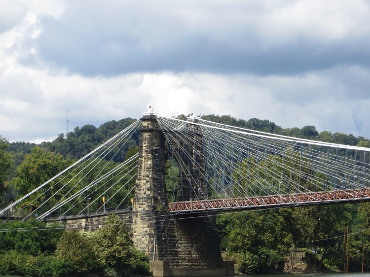 The Wheeling Suspension Bridge