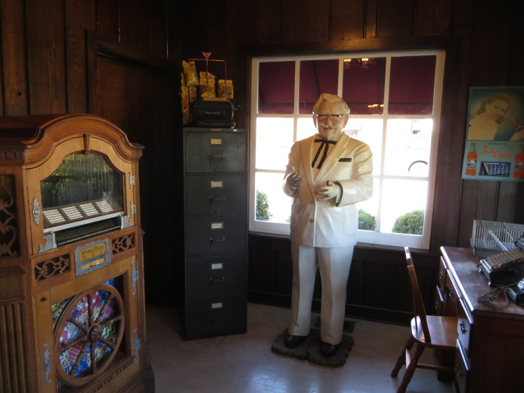 Colonel Sanders' office
